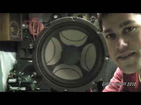 Speaker Blowing - Panasonic Sub & Sanyo Woofers