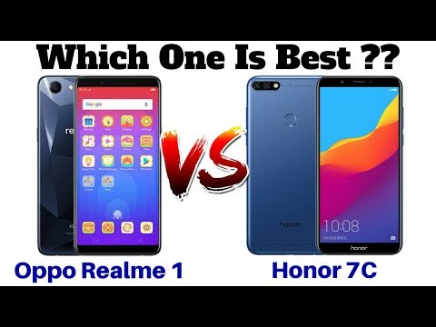 Honor 7C Vs Oppo Realme 1 | Which One Is Best ??