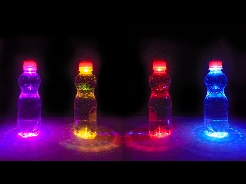 Diy Lighting for Plastic Bottle   How to make a night lamp with plastic bottle