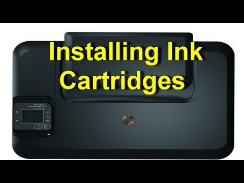 HP Deskjet Ink Advantage 3515 - Installing Ink Cartridges Or Replacing Ink Cartridges - Preview