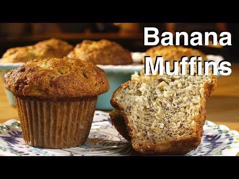 Banana Muffins || Le Gourmet TV Recipes