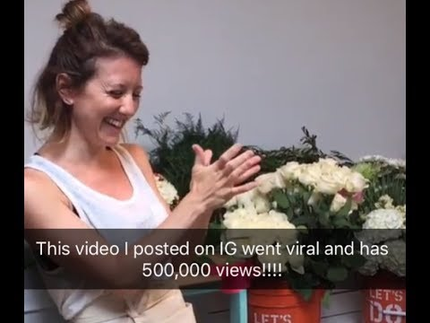 This video went viral on Instagram! The trick to opening roses without turning them brown!