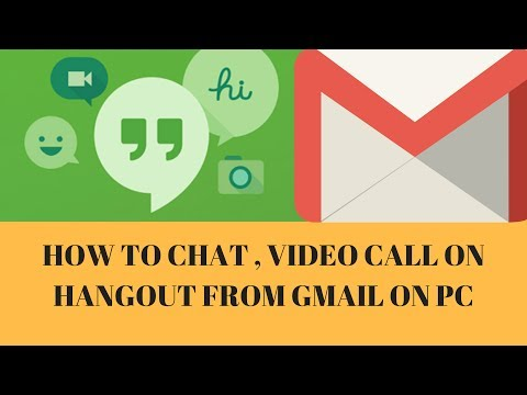 Chat and video call on Hangout from your Gmail account