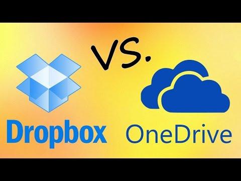 Dropbox vs  OneDrive (SkyDrive)