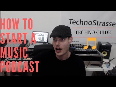 How to start a music podcast