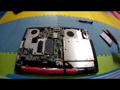 How To Replace Harddisk on Acer One 14 Z1401-C810