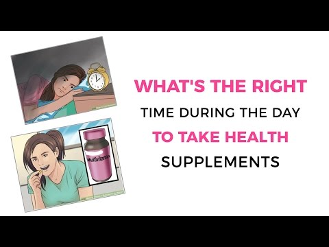 What's the right time during the day to take health supplements || Indian lifestyle Guide