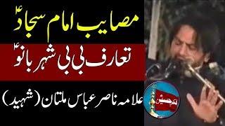 Masayib Imam Sajjad (a.s) | Bazar e Sham | Allama Nasir Abbas