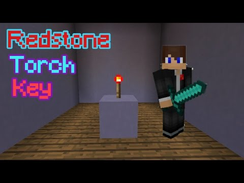 Redstone tutorial: How to make a redstone torch key