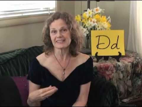Using the Vimala Alphabet - The Letter D by Jennifer Crebbin - Change Your Handwriting
