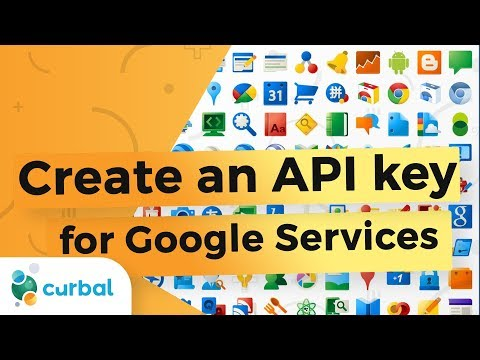Create an API Key for Google Services 2017