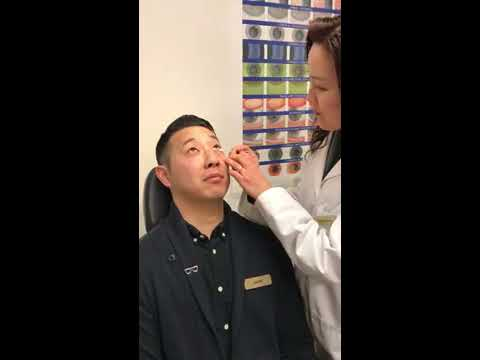 Itchy Eyes? Dr. Shelley Kim demonstrates how to treat your eyes