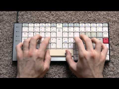 TypeMatrix 2030 Typing Test (Scissor switches) - KeyChatter.com