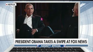 Hannity & Gingrich Fire Back at Obama Over His Comments About Fox News Viewers