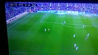 BarcelanoVs Espayol ( 2:0 ) messi 2 gol