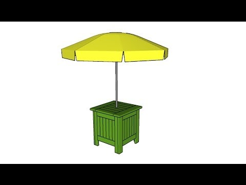 Umbrella Stand Plans