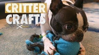 DIY Octopus Chew Toy | Critter Crafts