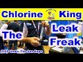"Help Determine a Pool Leak with ""The Leak Freak"" - Under The Sun Expo 2019 - Chlorine King"