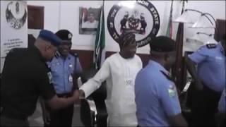 AIG Visits Osun State Governor Aregbesola NTA Osogbo Reports