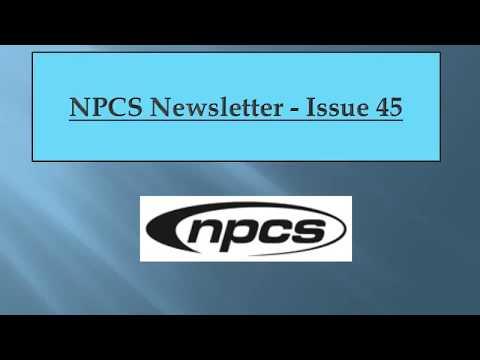 NPCS www niir org Newsletter  45