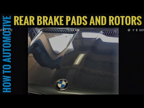 How to Replace Rear Brakes on a 2006 BMW X5 (E53)