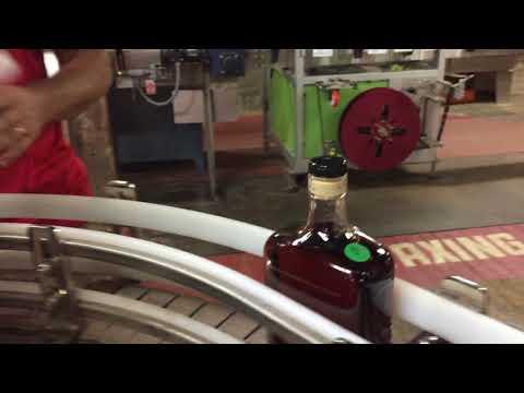 Makers Mark Bottling Line