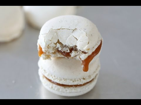 MACARONS WITH SALTED CARAMEL EP 7 , MANUELAS DINER