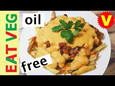 Chilli Cheese Fries | Healthy Vegan