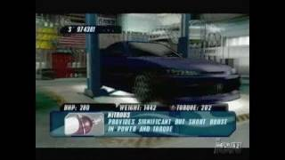 The Fast and the Furious PlayStation 2 Trailer - Fast And