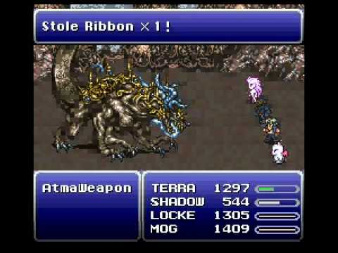 Final Fantasy 6- Atma Weapon