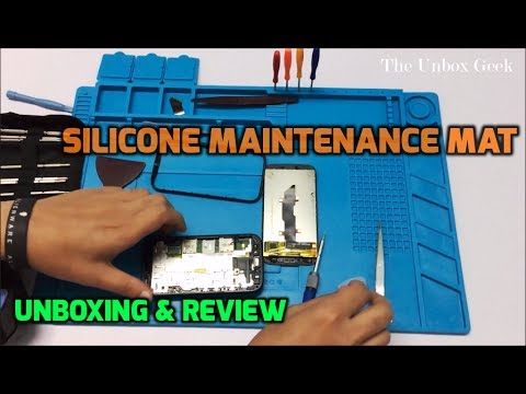 Magnetic Silicone Maintenance Mat Unboxing & Review (INDIA)