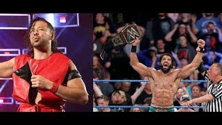 LATEST WWE NEWS on WWE Championship Shinsuke Nakamura Jinder Mahal WWE 2017