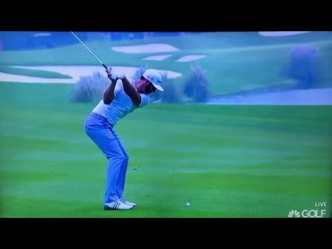 Dustin Johnson - 244 Yard 5-Iron ( Ultra Slow Motion) 2016
