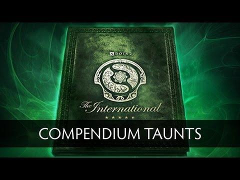 Dota 2 Compendium Taunts