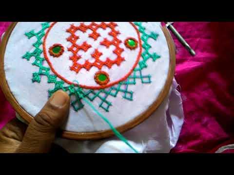 13.Sindhi tanka,  sindhi embroidery,kutch work,gujrati stitch.