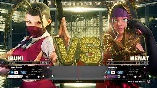 Street Fighter 5 Juri Vangurad Outfit mod(Cutscene)