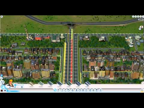 Simcity 2013 Traffic is stopped by the highway exit