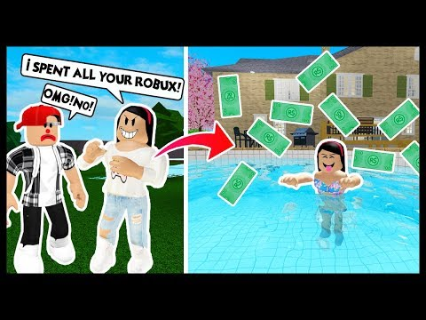 GETTING REVENGE ON MY BOYFRIEND! I SPENT ALL HIS ROBUX! - Roblox