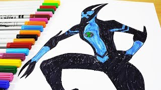 Coloring Pages Ben 10 Xlr8 - Ben 10 Omniverse Ben 10 Ultimate Alien Coloring Book 2017