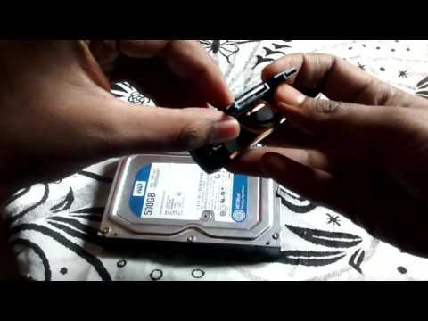 3.5 inch External Hard Disk Case Or Enclosure Setup