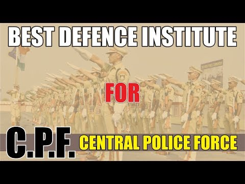 Best Defence Institute for CPF