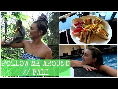 Getting Rabies From A Monkey Scratch!? // BALI VLOG