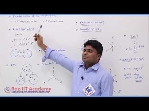Nature of Chemical Bond  Chemistry Part-4 std 11th HSC Board Video Lecture BY Rao IIT