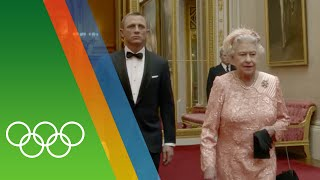 James Bond - London 2012 Opening Ceremony | Epic Olympic Moments