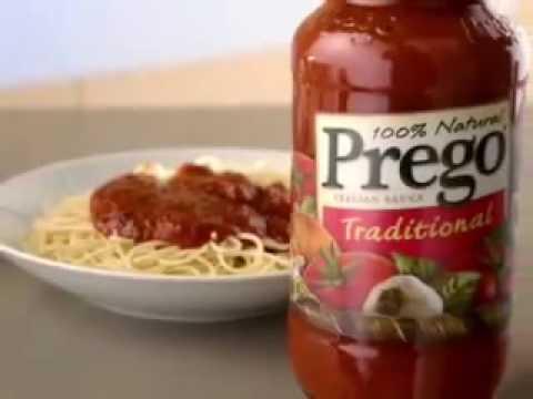 Prego Pasta Sauce Commercial