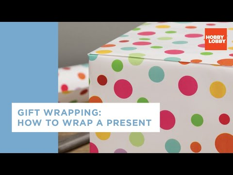 Gift Wrapping: Boxes & Bows | How to Wrap a Present