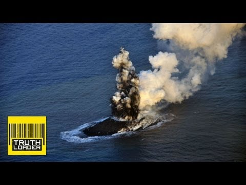 Dramatic volcanic eruption creates new island south of Tokyo - Truthloader Investigates
