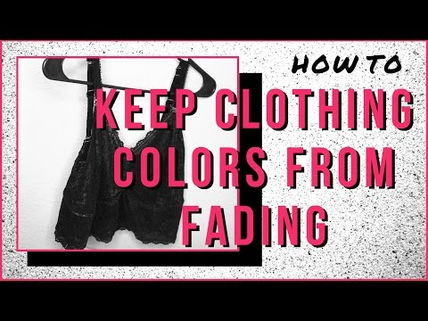 How to Keep Clothing Dye Colors from Fading | Ashen Tigress