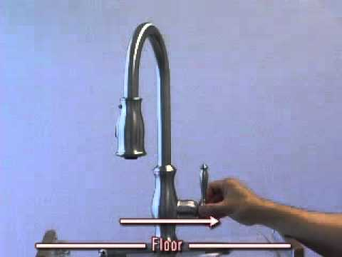 Maintenance - Remove cartridge from Hanover Kitchen Faucet