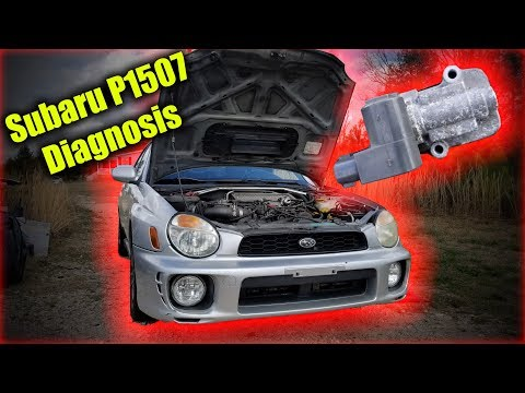Subaru P1507 Diagnosis